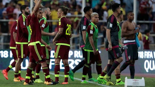 Más allá de no tener chances de ir al Mundial, Venezuela busca crecer