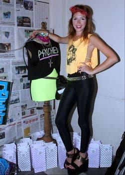 Candela Vetrano lanzó su linea de ropa, Hey! Mona. Foto: Amado Group