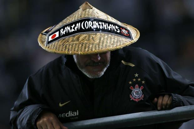 El Diego versión oriental no es hincha de Boca. Confirmado.  Foto:Reuters