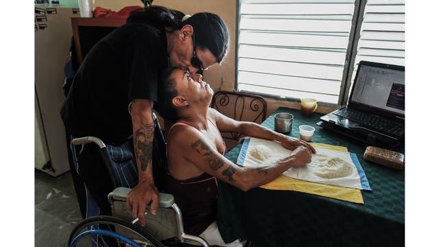Gerson y Yohandra son pareja desde el año 2000