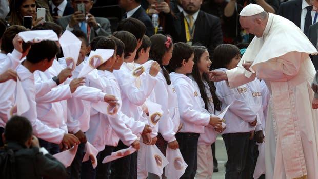 El Papa llegó a Colombia