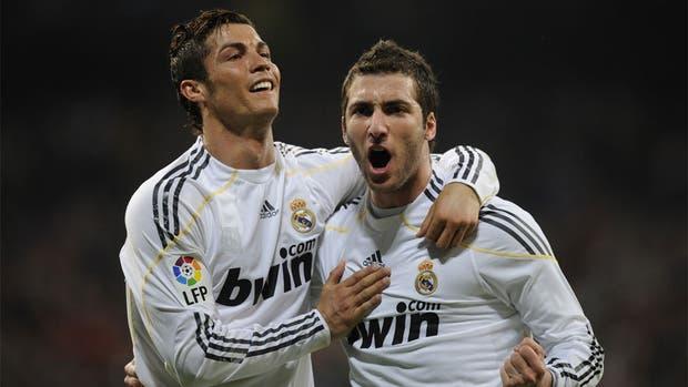 Cristiano Ronaldo jugaron juntos en Real Madrid