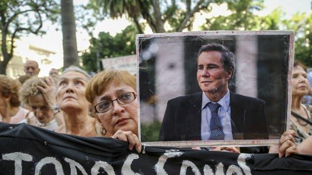 Más de mil personas en el homenaje a Alberto Nisman