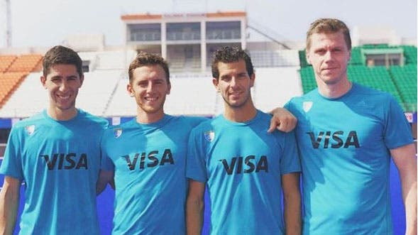 Ignacio Ortiz, Lucas Vila, Juan Martín López y Lucas Rossi, todos formados en Banco Provincia y que representarán una vez más al seleccionado