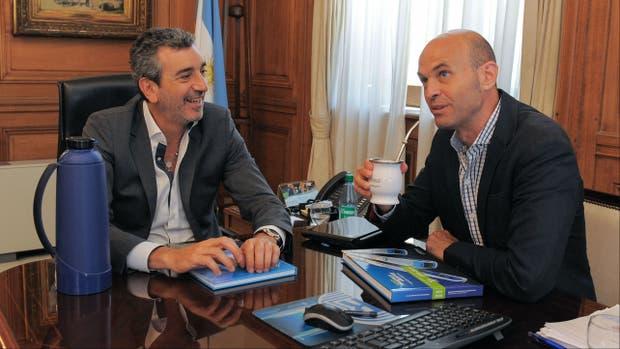 Florencio Randazzo y Guillermo Dietrich