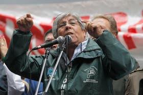 Hugo Moyano confirmó que la CTA opositora se movilizará el lunes junto a la CGT