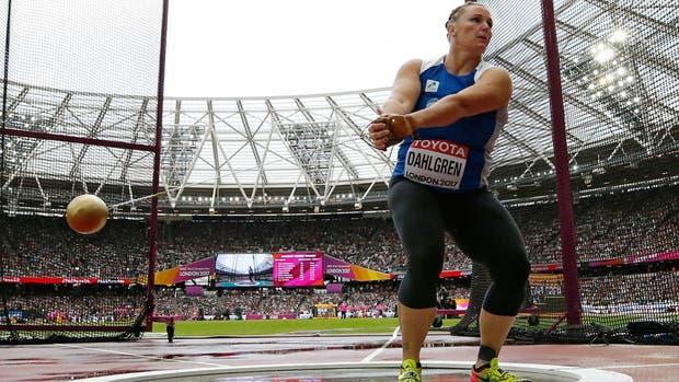 Dahlgren terminó con tres nulos y quedó eliminada del Mundial de Atletismo