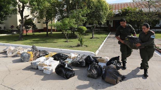 En los últimos siete meses se secuestraron unas nueve toneladas de marihuana en Corrientes