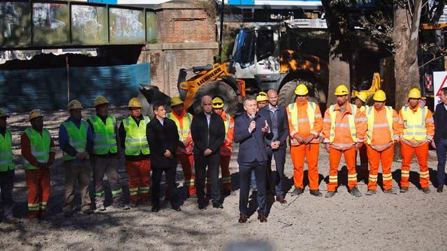 Macri encabezará el acto de apertura de las obras del viaducto Mitre