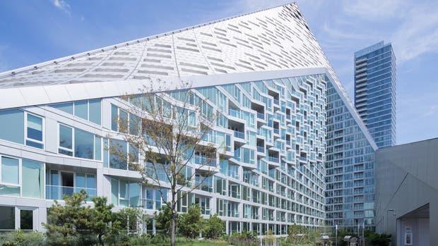 La primera obra del arquitecto danés Bjarke Ingels, en los Estados Unidos