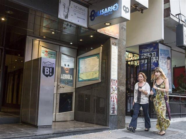 El Porteño y Belisario son sólo dos de las múltiples salas pequeñas de la avenida Corrientes