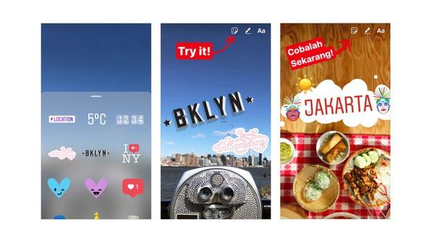 Instagram copia a Snapchat una vez más: Esta vez con los Geostickers