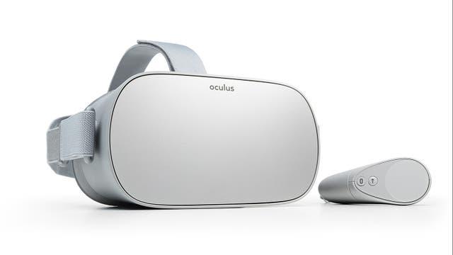 El software para el Oculus Go es compatible con el del Samsung Gear VR (que también es parte de la plataforma Oculus)