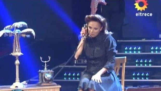Iliana Calabró, en Showmatch