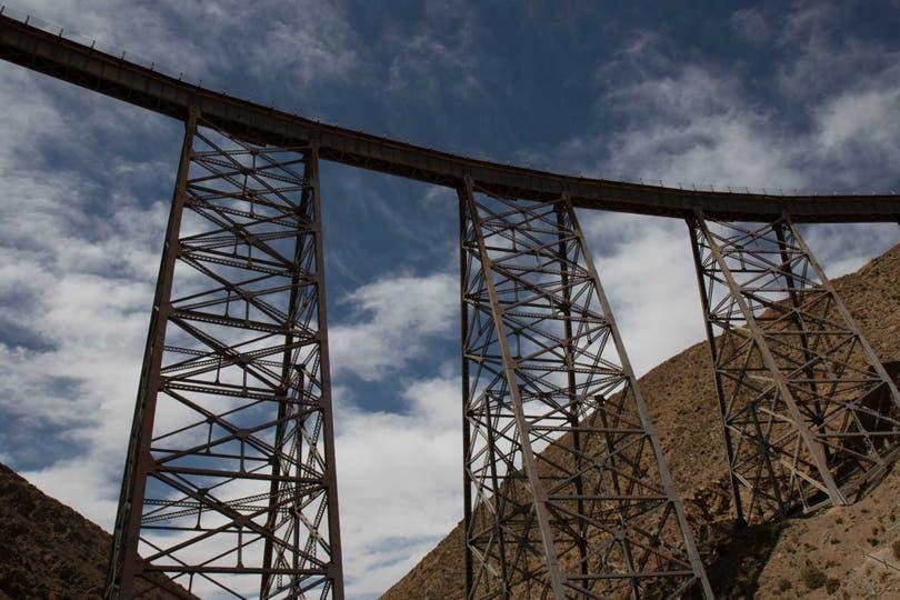 Viaducto La Polvorilla, el emblema del Tren a las Nubes. Fotos: Soledad Gil