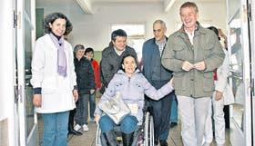 Michetti y De Narváez hicieron campaña en Laprida, la ciudad natal de la candidata porteña