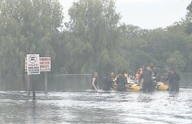 Ante el descenso del río, parte de los evacuados podrían volver a sus casas a partir de hoy