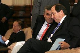 Morales y Sanz fueron protagonistas de las negociaciones fallidas con el oficialismo