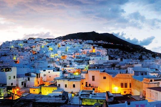 Deslumbrante. La puesta del sol en Tetouan, ciudad que es patrimonio de la Unesco