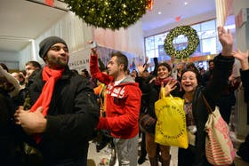 El Black Friday, una tradición en las tiendas de los Estados Unidos