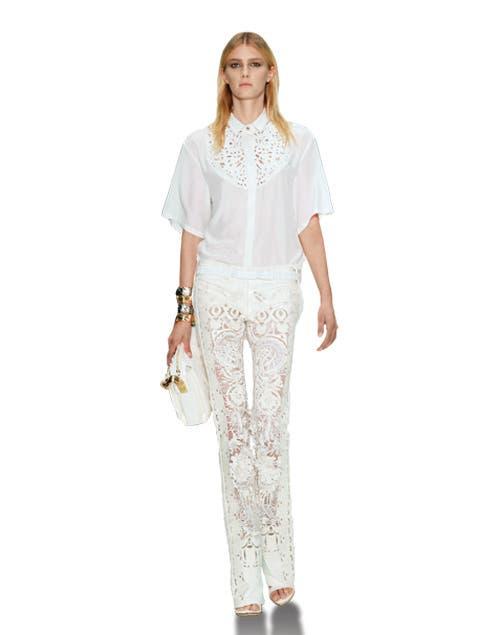 Total white por Roberto Cavalli.
