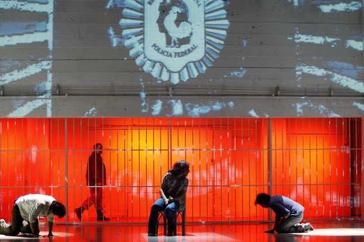 Tanguito, en su época en prisión. Foto: Rodrigo Néspolo
