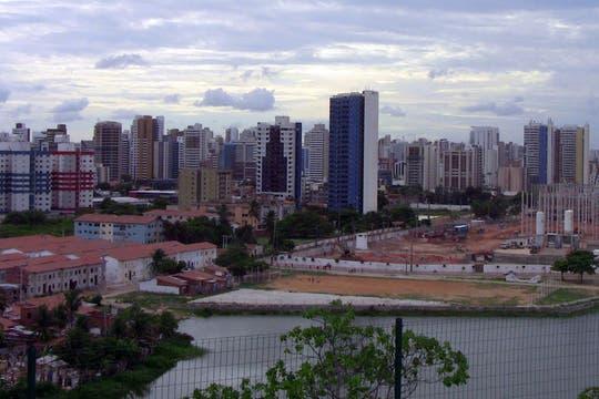 Una panorámica de esta ciudad balnearia del nordeste de Brasil en el estado de Ceará. Foto: LA NACION / Carlos Sanzol