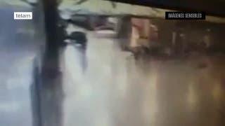 Estambul: imágenes captadas por las cámaras de seguridad