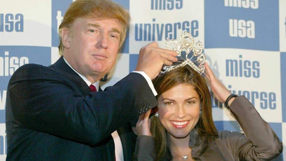En 2015, Donald Trump decidió comprar la mitad de la organización de Miss Universo foto: AFP