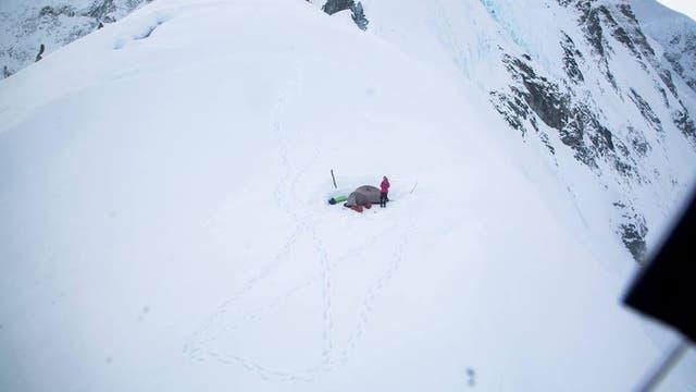 Montañista argentina de 37 años quedó atrapada en el monte más alto de Canadá