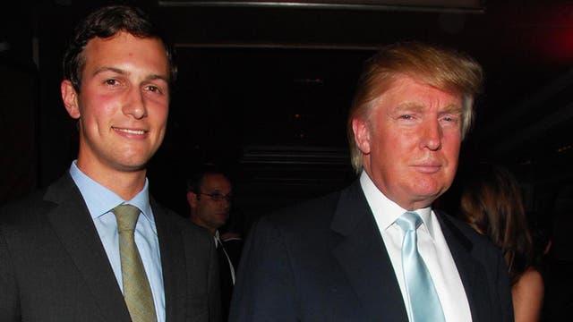 Trump y Jared Kushner, su yerno