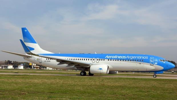 Un nuevo avión para Aerolíneas