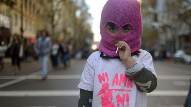 En Argentina nunca se es demasiado joven para participar en una protesta.