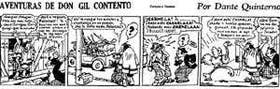 La primera tira en la que Dante Quinterno presentó a Patoruzú como Curugua-Curiguagüigua se publicó el 19 de octubre de 1928 en el diario Crítica