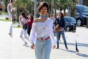 Moda en Instagram: mirá estos jeans con cuello de camisa