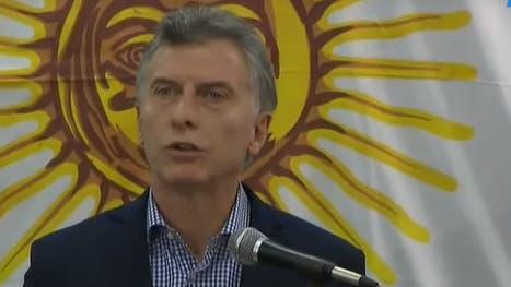 Macri dio una conferencia de prensa sobre el submarino