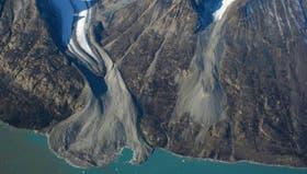 Los glaciares en retroceso de Alpe Fjord, en Groenlandia