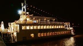El barco Mississippi River propone recibir el Año Nuevo en el Río de la Plata; habrá cena y show hasta entrada la madrugada