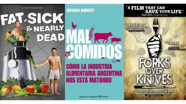 El libro Malcomidos de Soledad Barruti y los documentales Fat, sick & nearly dead (Gordo, enfermo y casi muerto), Fork over knife (Tenedores sobre cuchillos) la ayudaron a tomar la decisión