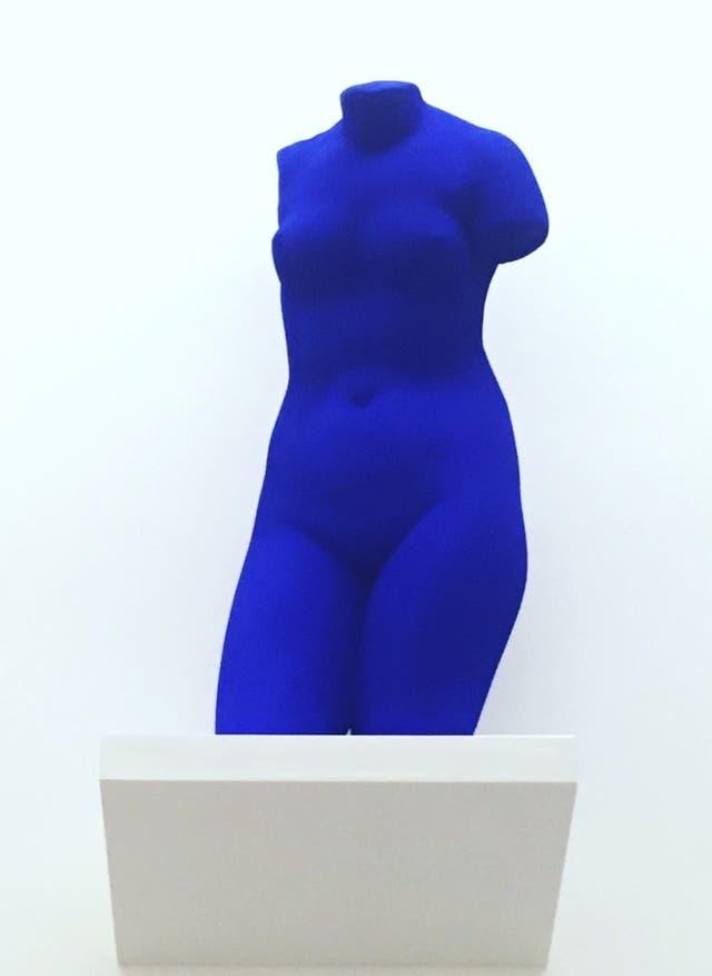 Obra de Yves Klein en Proa