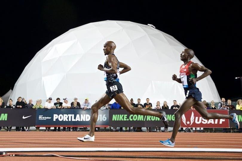 Mo Farah y su fina estampa para correr.