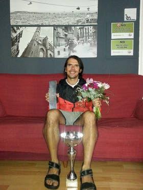 José Luis, ganador de la categoría disminuidos visuales