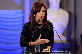 Cristina Kirchner, al anunciar la reforma judicial que ahora es cuestionada duramente desde la ONU