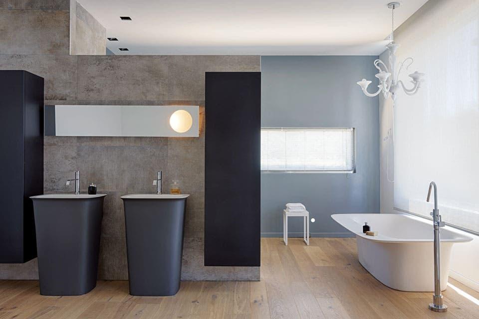 un baño con lo mejor del diseño italiano - daniel karp - espacio ... - Muebles De Bano Diseno Italiano
