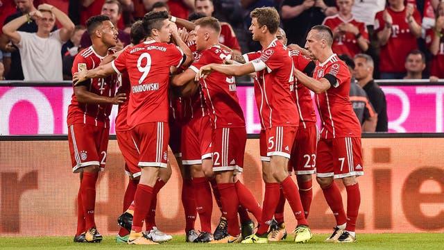 Bayern debutó con un triunfo en Munich