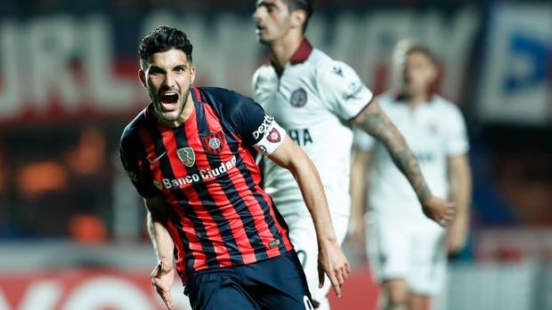 San Lorenzo-Lanús, Copa Libertadores: con goles de Blandi, el Ciclón gana el primer duelo de cuartos de final