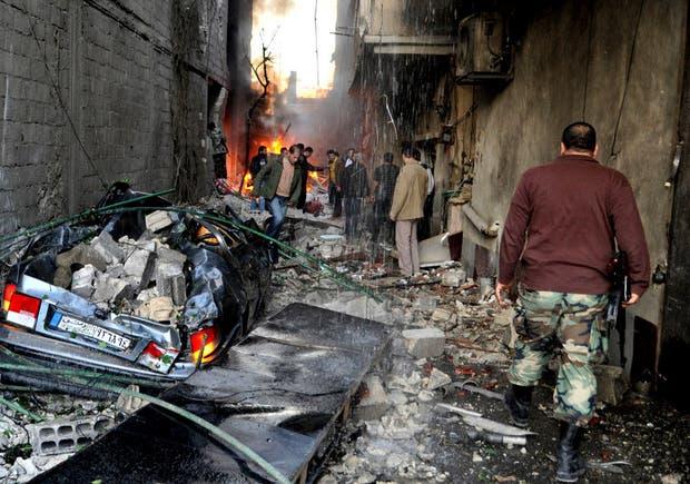 Enfrentamientos en la capital siriana