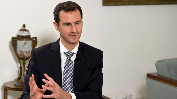 Al-Assad aceptó el cese al fuego en Siria