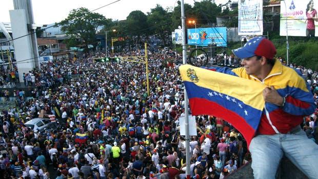 Manifestación de la oposición en Táchira, en 2015