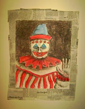 Uno de los dibujos de Gacy